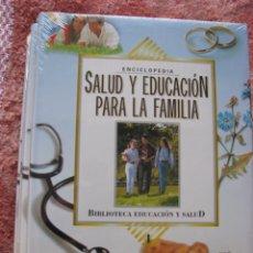 Enciclopedias: ENCICLOPEDIA SALUD Y EDUCACIÓN PARA LA FAMILIA, ISIDRO AGUILAR, EDIT. SAFELIZ, 4 VLS, NUEVA ESTRENAR. Lote 267687954