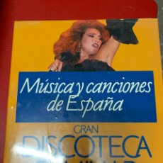 Enciclopedias: MÚSICA Y CANCIONES DE ESPAÑA. Lote 268753584