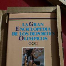 Enciclopedias: LA GRAN ENCICLOPEDIA DE LOS JUEGOS OLÍMPICOS. Lote 268755759