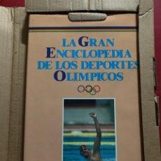 Enciclopedias: LA GRAN ENCICLOPEDIA DE LOS DEPORTES OLÍMPICOS. Lote 268756084