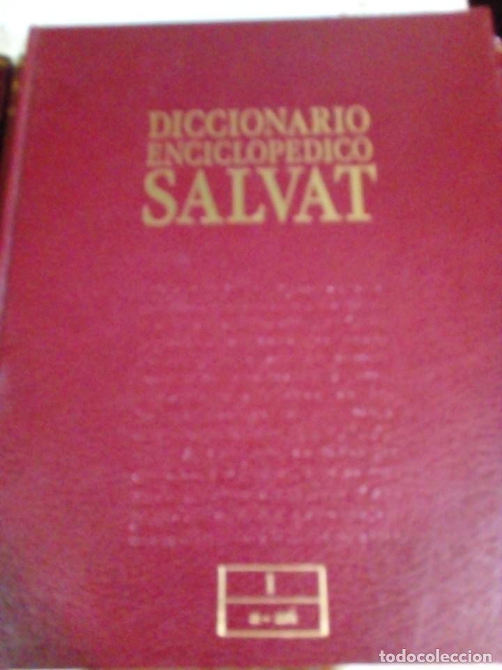 Enciclopedias: DICCIONARIO ENCICLOPEDICO SALVAT 13 tomos - Foto 2 - 269416143