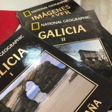 Livros: LOTE NATIONAL GEOGRAPHIC CONOCER ESPAÑA GALICIA E IMÁGENES DE AYER. Lote 269655453