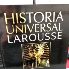 Enciclopedias: HISTORIA UNIVERSAL LAROUSSE LOS ORIGENES DE LA CIVILIZACIÓN HASTA 1200 A. C.. Lote 269655753