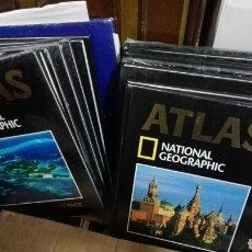 Enciclopedias: 14 TOMOS ATLAS NATIONAL GEOGRAPHIC. Lote 270578573