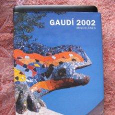 Livros: LIBRO EDICIÓN OFICIAL CONMEMORATIVA NACIMIENTO GAUDÍ, 1º EDICIÓN 2002, ED. PLANETA, NUEVO A ESTRENAR. Lote 270874588