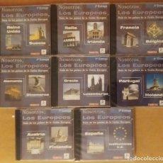 Enciclopedias: GUIA DE LOS PAÍSES DE EUROPA EN CD-ROM. Lote 271378588