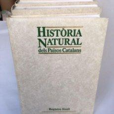 Enciclopedias: HISTORIA NATURAL PAISOS CATALANS. Lote 272773678