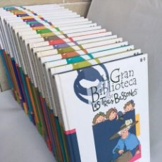 Enciclopedias: COLECCIÓN GRAN BIBLIOTECA TRES BESSONES. Lote 272774653
