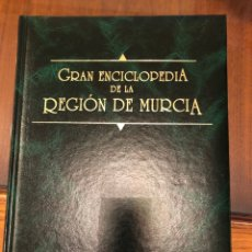 Enciclopedias: GRAN ENCICLOPEDIA DE LA REGIÓN DE MURCIA. 1992. CARTONÉ. Lote 275216203