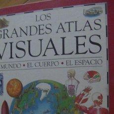 Enciclopedias: LOS GRANDES ATLAS VISUALES-EL MUNDO, EL CUERPO, EL ESPACIO. RICHARD KEMP. ED DORLING KINDERSLEY, MA. Lote 276226343