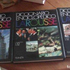 Enciclopedias: DICCIONARIO ENCICLOPEDICO LAROUSSE 3 TOMOS Nº 11-12- EXTRA . PLANETA, 1992. Lote 276537768