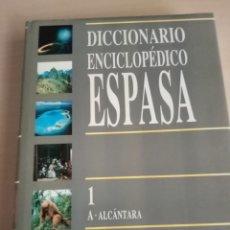 Enciclopedias: DICCIONARIO ENCICLOPEDIA ESPASA (30 VOLUMEN. Lote 280851008