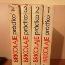 Enciclopedias: MANUAL BRICOLAJE PRÁCTICO, 4 TOMOS. Lote 280864913