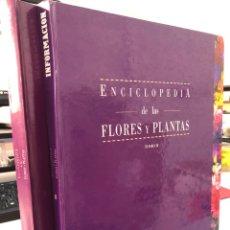 Livros: COMPLETA 2 TOMOS - ENCICLOPEDIA DE FLORES Y PLANTAS - INFORMACION ALICANTE. Lote 280958683