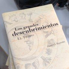 Livros: 2004 ENCICLOPEDIAS LOS GRANDES DESCUBRIMIENTOS COMPLETA. Lote 280975463
