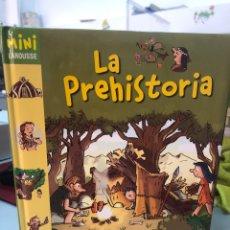 Livros: LA PREHISTORIA - MINI LAROUSSE - PRECIOSAMENTE ILUSTRADO POR DIDIER BALICEVIC. Lote 282926078