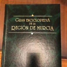 Enciclopedias: GRAN ENCICLOPEDIA DE LA REGIÓN DE MURCIA. 1992. CARTONÉ. Lote 286156478
