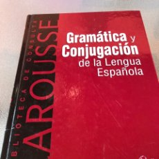 Enciclopedias: GRAMÁTICA Y CONJUGACIÓN DE LA LENGUA E. Lote 288330163