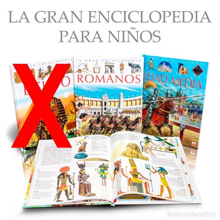 PACK LA GRAN ENCICLOPEDIA PARA NIÑOS. 2 LIBROS - VARIOS AUTORES (CARTONÉ) DESCATALOGADO!!! OFERTA!!! (Libros Nuevos - Diccionarios y Enciclopedias - Enciclopedias)