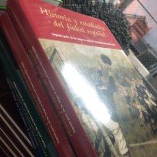 Livros: COMPLETA: HISTORIA Y ESTADÍSTICA DEL FÚTBOL - VICENTE MARTINEZ CALATRAVA 2002. Lote 291000243