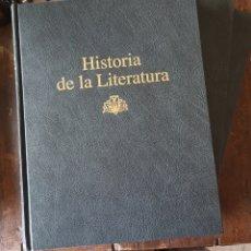 Enciclopedias: HISTORIA DE LA LITERATURA (3 TOMOS). Lote 294040428