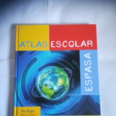 Enciclopedias: LIBRO ATLAS ESCOLAR ESPASA. Lote 294375663