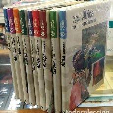 Enciclopedias: TIERRAS Y GENTES (10 TOMOS) A-ENC-569-SF. Lote 295333388