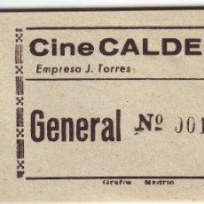 Entradas de Cine : ENTRADA DE CINE DE MONTIJO. Lote 46162722