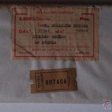 Entradas de Cine : PAQUETE ORIGINAL CON PRECINTO TICKETS ENTRADA TEATRO COLISEUM (MALLORCA) AÑOS 50. PAQUETE DE 2500 . Lote 51125144