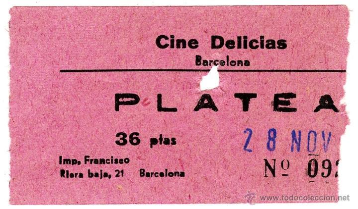 Barcelona Los Cines Desaparecidos Entrada Cine Comprar