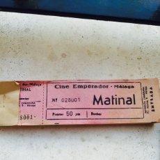 Entradas de Cine : LOTE DE 2 BLOCS CON ENTRADAS DE CINE, COMPLETOS. Lote 64299638