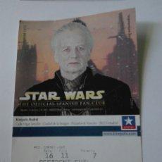 Entradas de Cine : ENTRADA CINE KINEPOLIS - STAR WARS . Lote 95461488