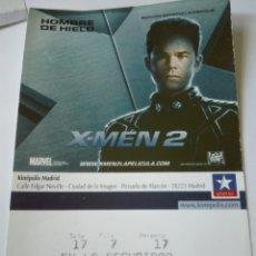 Entradas de Cine : ENTRADA CINE KINEPOLIS - X MEN HOMBRE DE HIELO. Lote 95461791