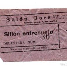 Entradas de Cine : ENTRADA DE CINE - CINE DORE - SILLON ENTRESUELO. Lote 103607127