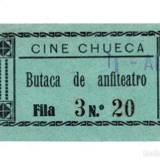 Entradas de Cine : ENTRADA DE CINE - CINE CHUECA - ANFITEATRO. Lote 103682515