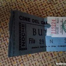 Entradas de Cine : 2 ANTIGUAS ENTRADAS CINE DEL CALLAO. Lote 115634771