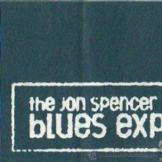 Entradas de Conciertos: THE JON SPENCER BLUES EXPLOSION – ENTRADA ORIGINAL CONCIERTO – BARCELONA 1999. Lote 21145924