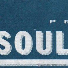 Entradas de Conciertos: SOUL ASYLUM – ENTRADA ORIGINAL CONCIERTO – BARCELONA 1992. Lote 22337473
