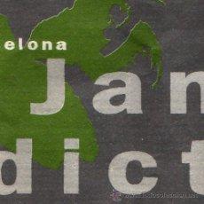 Entradas de Conciertos: JANE'S ADDICTION - TICKET ENTRADA CONCIERTO 1990 – BARCELONA. Lote 29157329