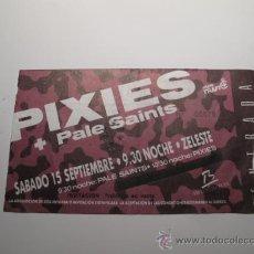 Biglietti di Concerti: ENTRADA CONCIERTO PIXIES / PALE SAINTS EN SALA ZELESTE BARCELONA. Lote 29927528