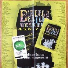 Entradas de Conciertos: LOTE PRODUCTOS DEL BINEFAR BEATLES WEEKEND DE 2013. Lote 37324435