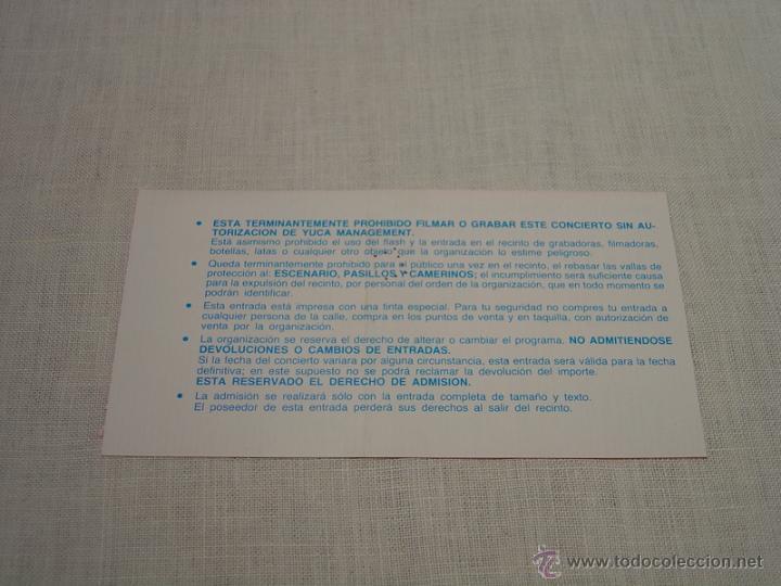 Entradas de Conciertos: VICTOR Y ANA EN CONCIERTO - ENTRADA VALLADOLID - Foto 3 - 47528025