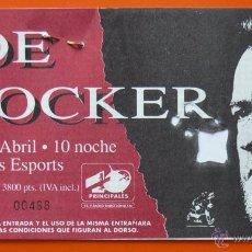 Entradas de Conciertos: JOE COCKER - ENTRADA DE CONCIERTO - PALAU DELS ESPORTS - BARCELONA - ABRIL 1992. Lote 49061127
