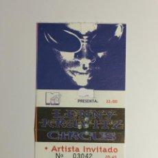 Entradas de Conciertos: ENTRADA CONCIERTO: LENNY KRAVITZ, 31 MARZO 1996, GIRA CIRCUS, PALACIO DE LOS DEPORTES BARCELONA.. Lote 51511600