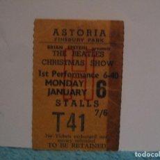 Entradas de Conciertos: THE BEATLES RESGUARDO DE ENTRADA DE CONCIERTO ORIGINAL 1964. Lote 65786326