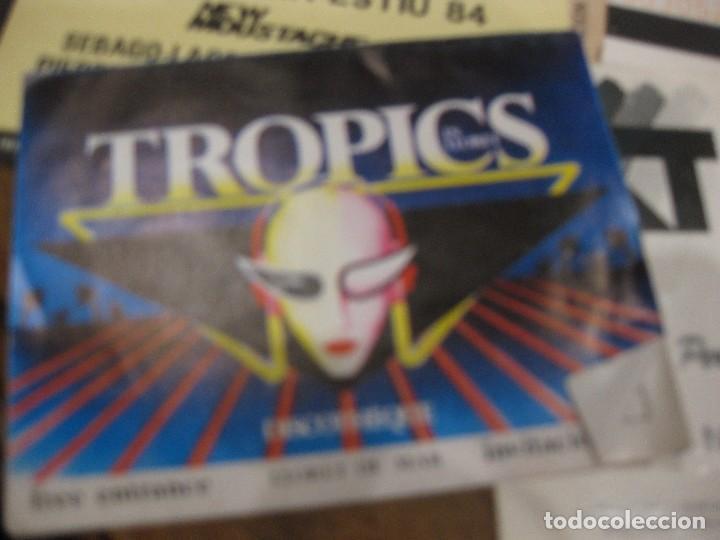 Entradas de Conciertos: gran lote 32 entrada antifaz publicidad discoteca karibu moustache tiffanys tropics hh años 80 - Foto 9 - 71209989