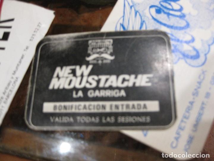 Entradas de Conciertos: gran lote 32 entrada antifaz publicidad discoteca karibu moustache tiffanys tropics hh años 80 - Foto 13 - 71209989