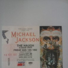 Entradas de Conciertos: MICHAEL JACKSON ENTRADA DANGEROUS TOUR GLASGOW. Lote 73549719
