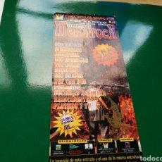 Entradas de Conciertos: ENTRADA DE LA SEGUNDA EDICIÓN DEL FESTIVAL MENOR ROCK DE SAN JAVIER (MURCIA). 1998. Lote 76738807