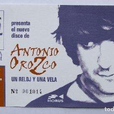 Entradas de Conciertos: ANTONIO OROZCO ENTRADA DE CONCIERTO. Lote 78511621